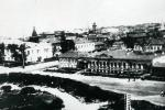 Вид на Костельную улицу с бельведера или балкона генерал-губернаторского дворца