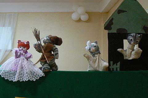Кошкин дом кукольный театр своими руками 40